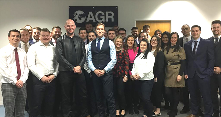 AGR Team with Chris Lemon
